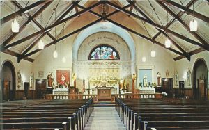 Saint Andrew's interior in 1969