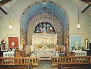 Saint Andrew's altar in 1969