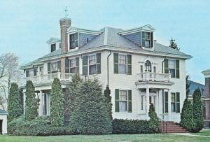 The rectory on Talbot Ave in 1969