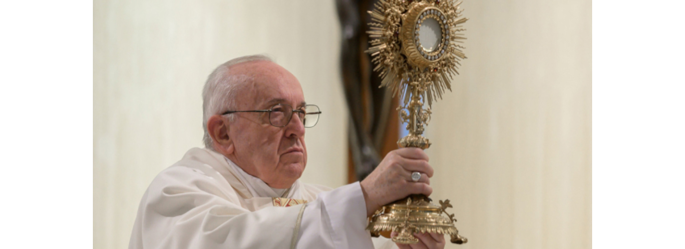 Pope Francis' Adoration prayer and Homily (Friday, 3/27)
